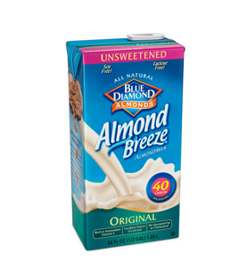 Almond Breeze - Original sin azúcar 1.89 l.