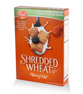 Post - Shredded Wheat - Honey Nut