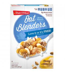 Malt-O-Meal Cereal Honey & Oat Blenders Almendras