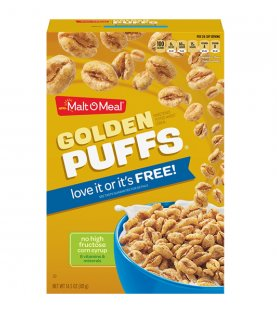 Malt-O-Meal Cereal Golden Puff