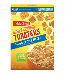Malt-O-Meal Cereal Honey Graham Toasters