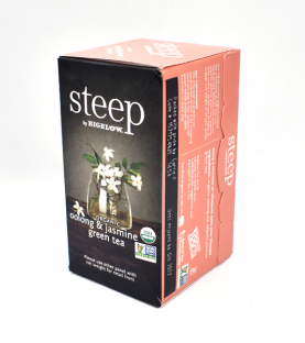 Steep by BIgelow Té verde oolong & jazmín - 18 Sobres
