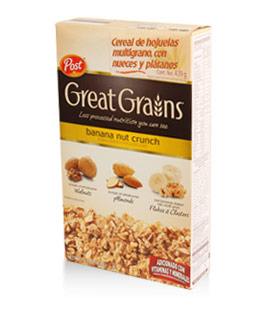 Post - Great Grains - Banana nut