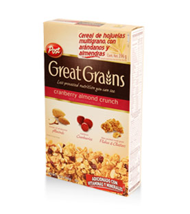 Post - Great Grains - Cranberry Almond